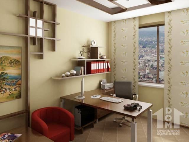 Оформление кабинета- маленький дизайн