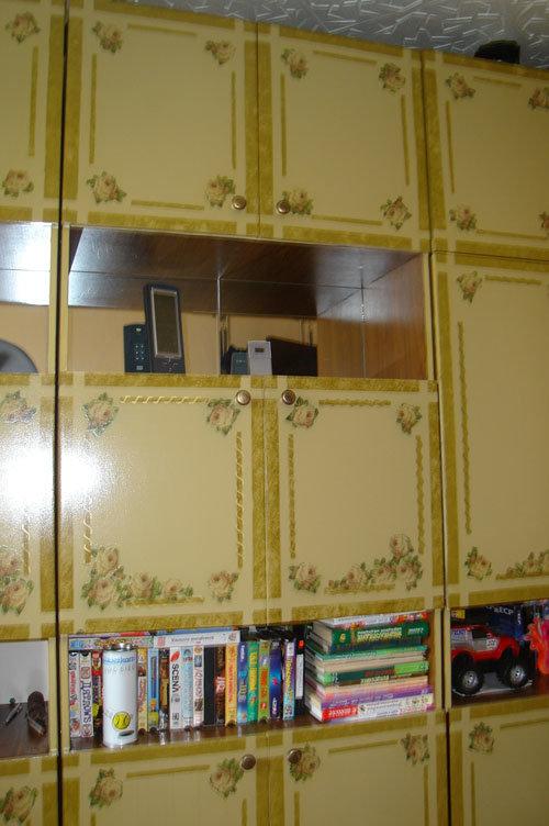 как обновить старую мебельную стенку с фото желательно это