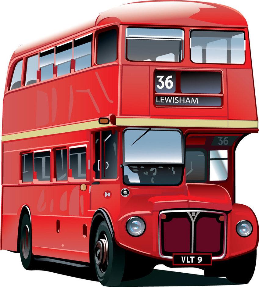 картинка автобус двухэтажный для него