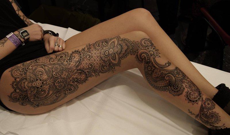 17 изящных и сексуальных женских татуировок