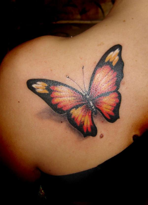 3d Butterfly Tattoos 27600 828 Card From User Nik Sprint In