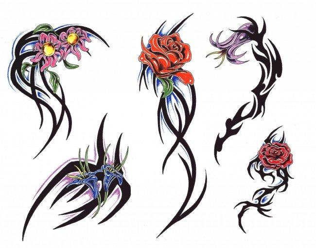 Эскизы татуировки на бок туловища для девушек. Рисунки тату