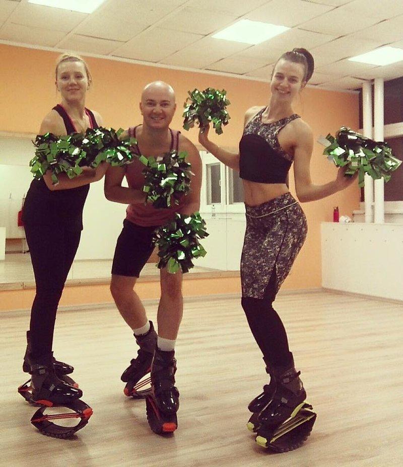 Фитнес Kangoo Jumping Minsk