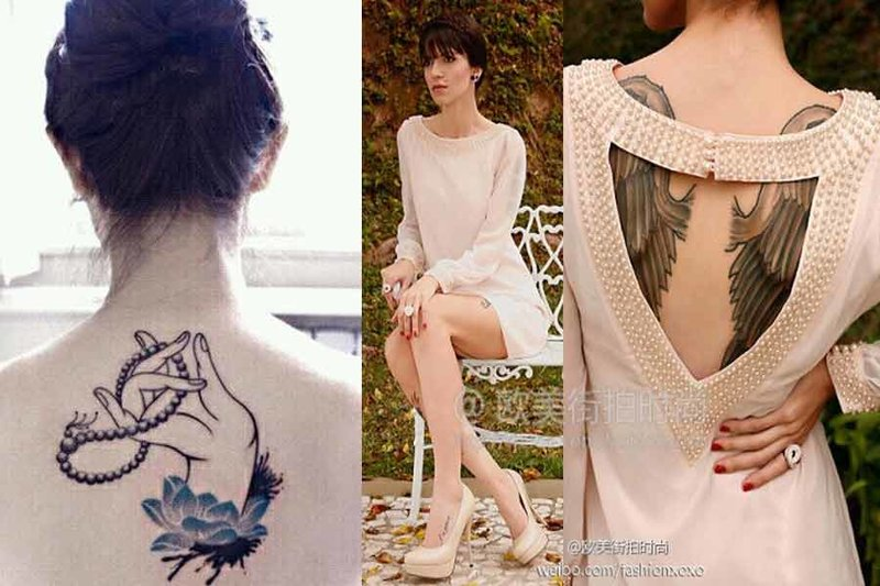 Красивые женские татуировки