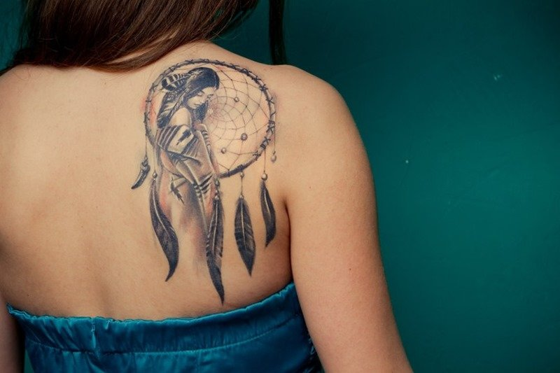 Nice Dreamcatcher Tattoos for Women