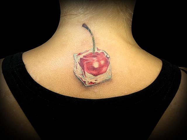 Тату для девушек на шее: как выбрать? Эскизы татуировок для девушек: фото | LS