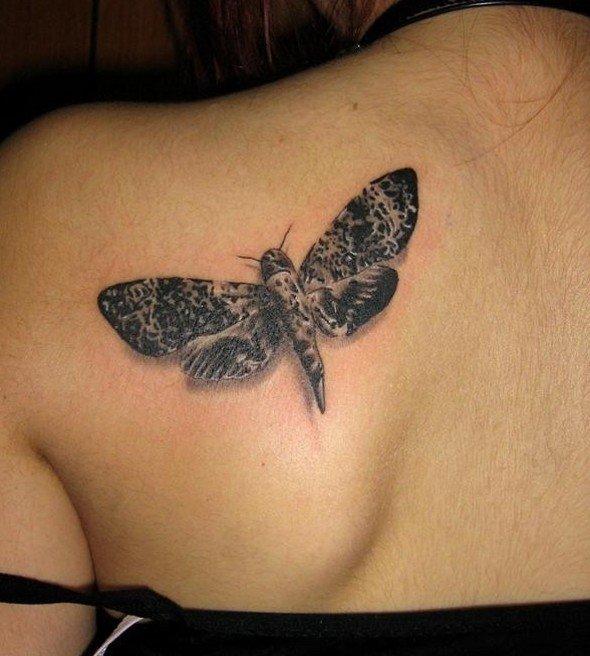 Татуировка Мотылёк
