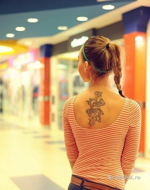 Уличная мода: ТОП - 35 женских татуировок от модных блоггеров