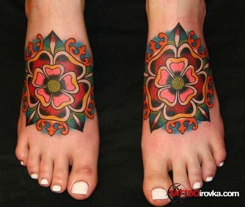 Женские татуировки. Фотоподборка 1