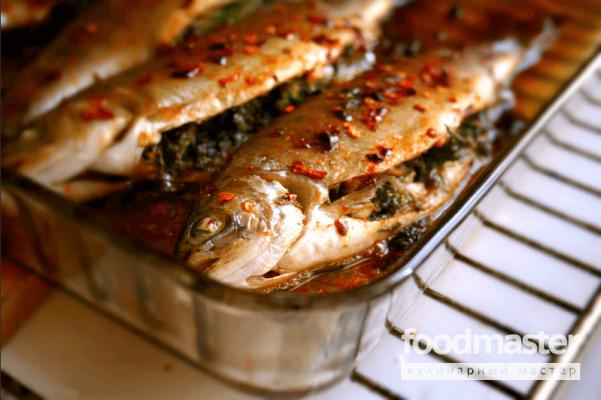 как приготовить рыбу форель в духовке видео