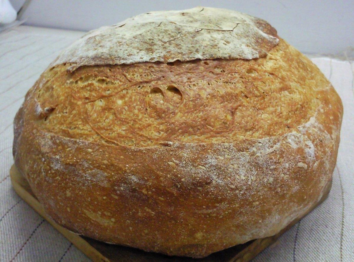Видео рецепт от шеф-повара домашний хлеб по-деревенски видео.