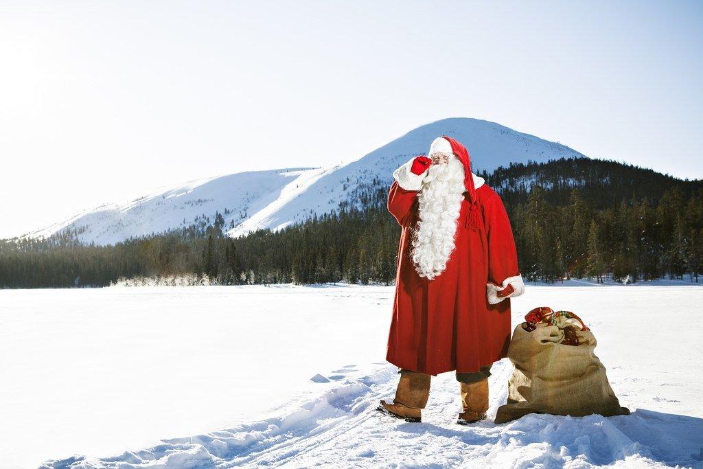 Картинка пьяный дед мороз в горах