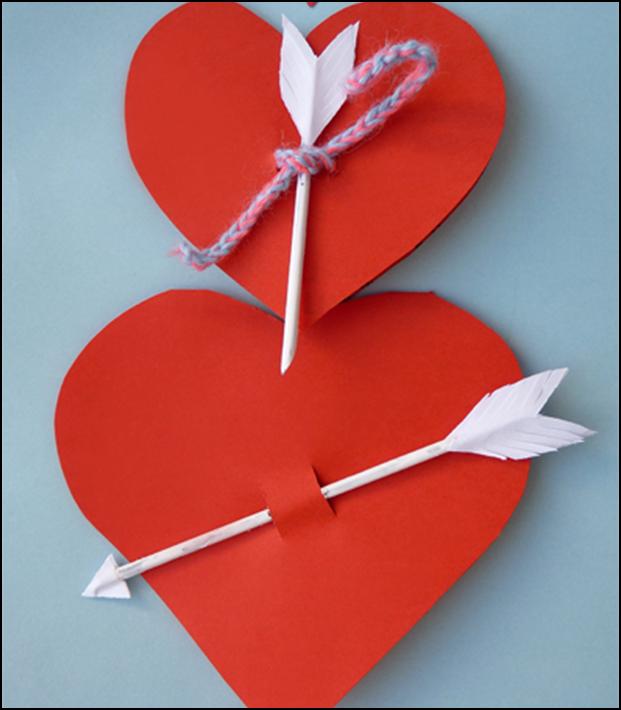 Открытки из цветной бумаги на день святого валентина, шарами новый год
