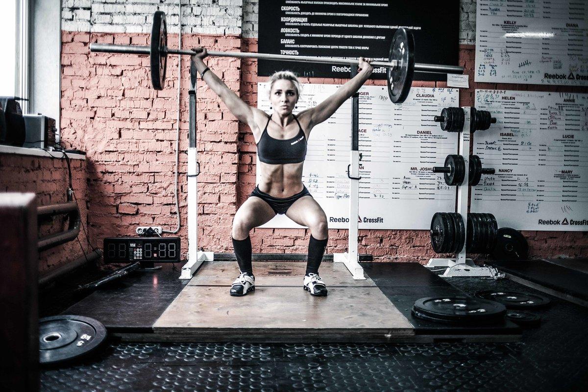 CrossFit Reebok - Занятия кроссфитом в зале в Москве - тренировки в фитнес клубе - Paladin