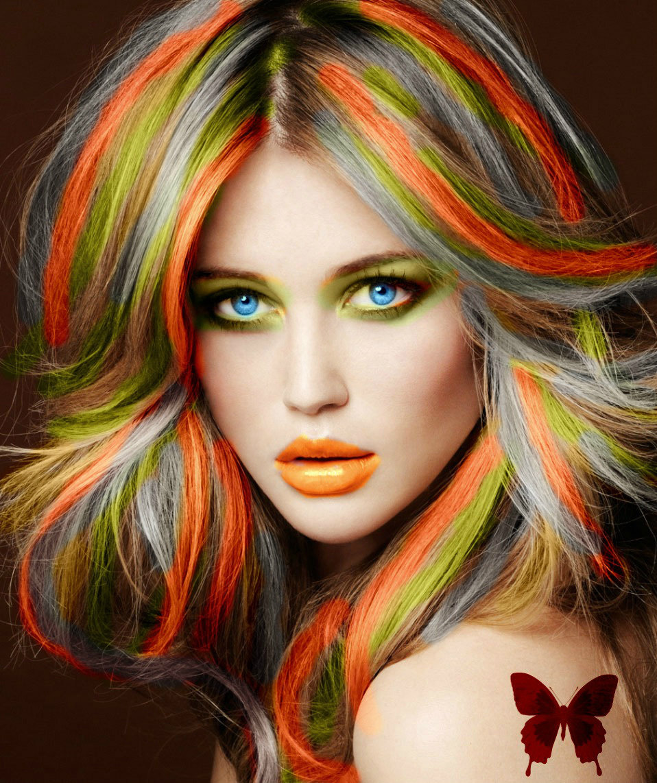 колорирование волос идеи фото представлены