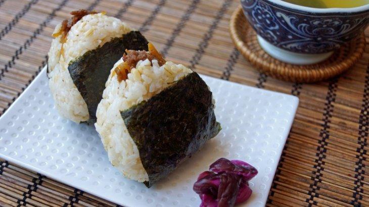 Онигири с говядиной Сигурэни - Рецепт