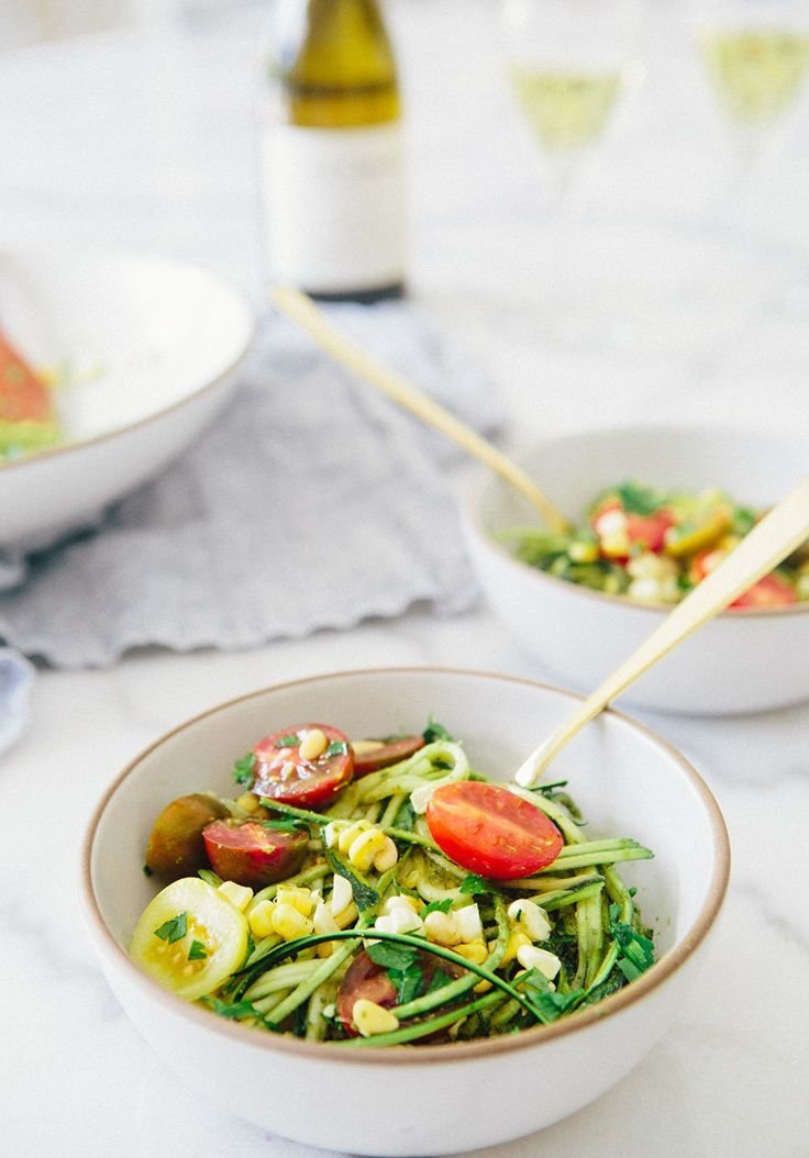 овощной салат пп