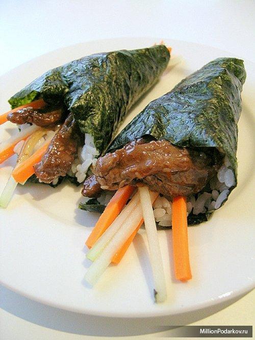 Рецепт блюда на пару – Японские голубцы