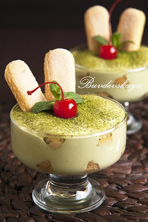 тирамису зеленый чай рецепт с фото