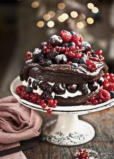 Вишневый торт «Черный лес»