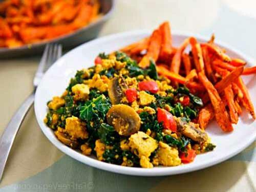 Взбитый жареный тофу с овощами рецепты - рецепты из тофу, веганские рецепты