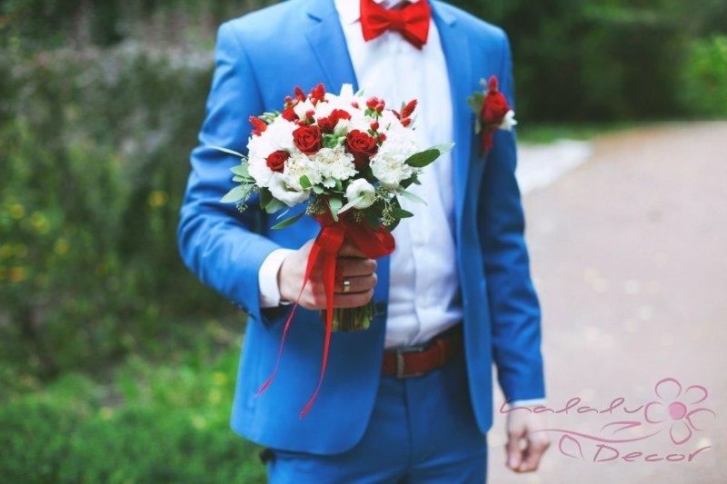 Вас свадьба в белом красном синем цвете что могут аннулировать