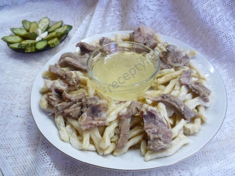 чеченские галушки фото