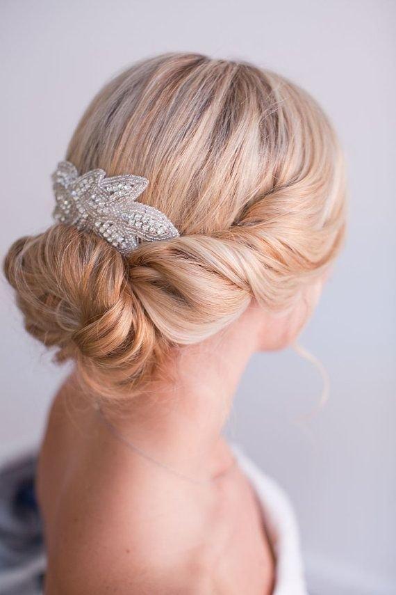 Джада, Люкс для волос кусок, горный хрусталь гребень волос, стразы чародей, заколки для волос, свадебное головной убор