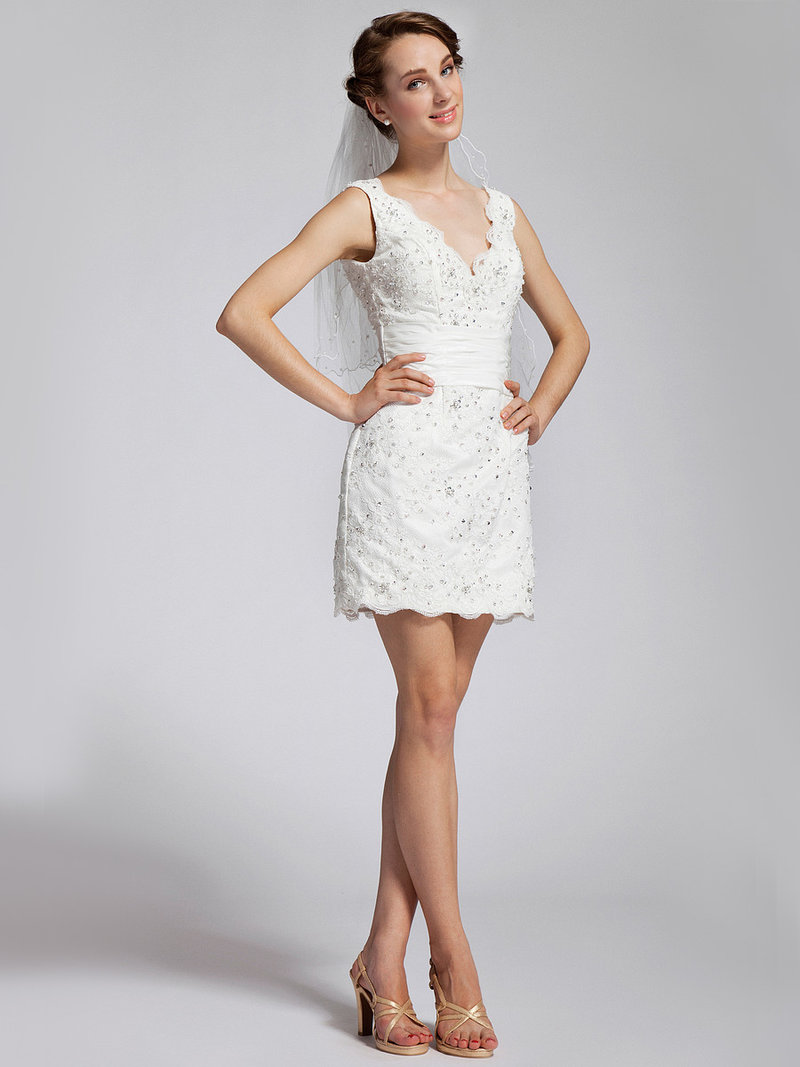 фото длинного и короткого и пышного платья свадебного