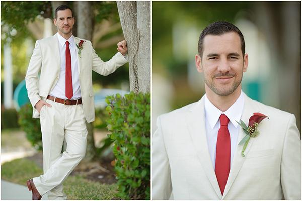 Красный цвет: красное свадебное вдохновение