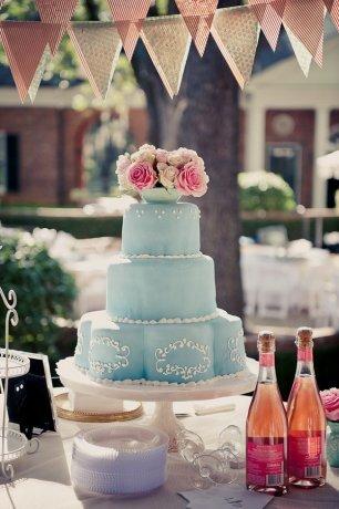 Необычный свадебный торт в пляжной тематике - The-wedding.ru