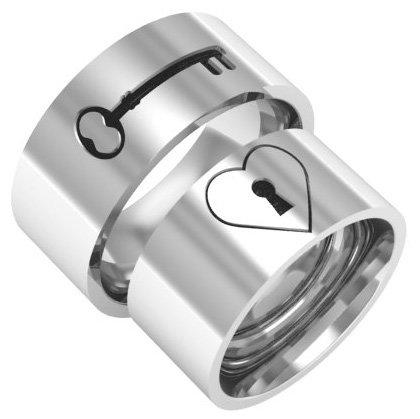 Парные кольца для влюблённых - кольца в одном стиле для него и неё | Ювелирум