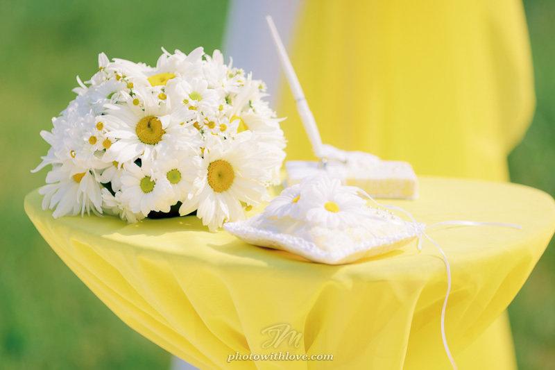 Лет, картинки на ромашковую свадьбу