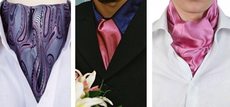 Шейный платок жениху вместо галстука - Sweet Bride - Свадебный портал
