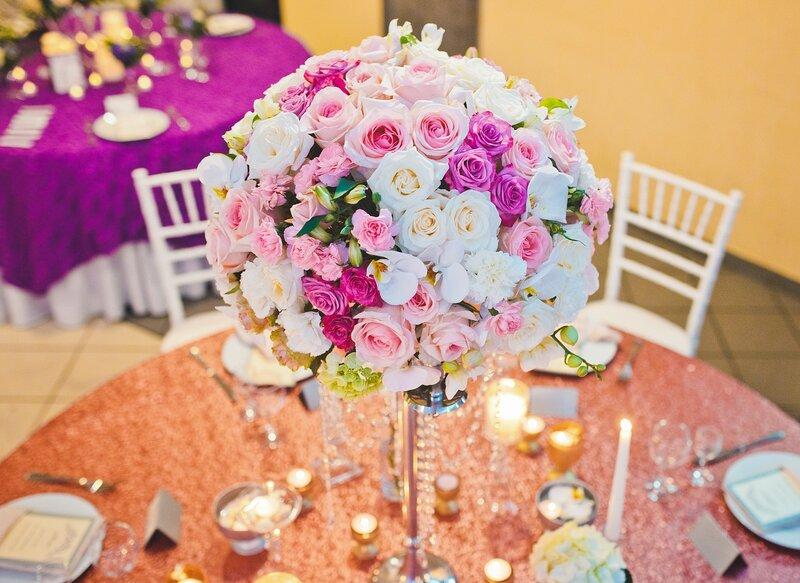 Украшение зала на свадьбу в Минске стоимость