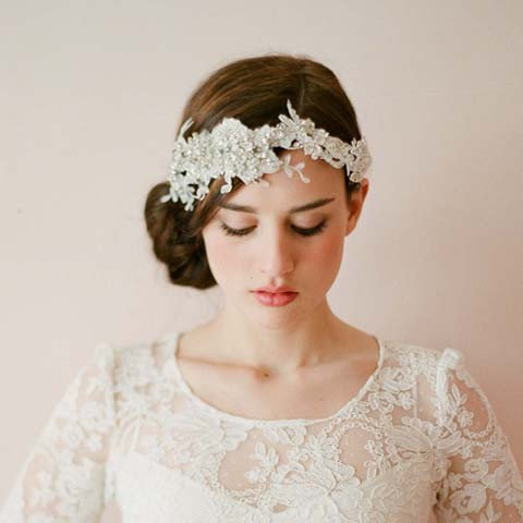 весільна зачіска-мереживо2014