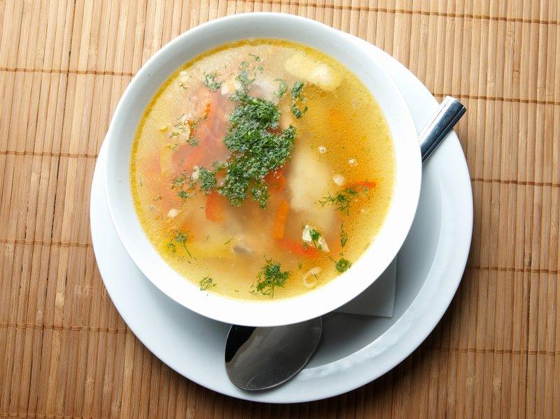 Куриный суп классический рецепт