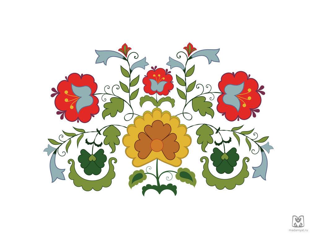 Картинка татарские узоры