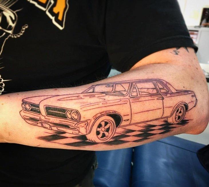 картинки татуировок с машинами смартфоны объединяют возможности