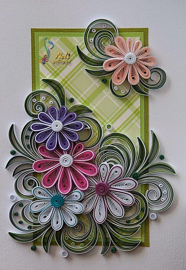 страна мастеров цветы в открытках сложное начать