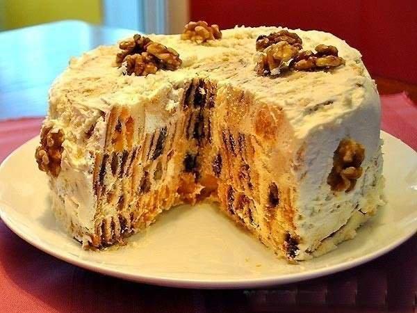 Пирожные и тортики фото