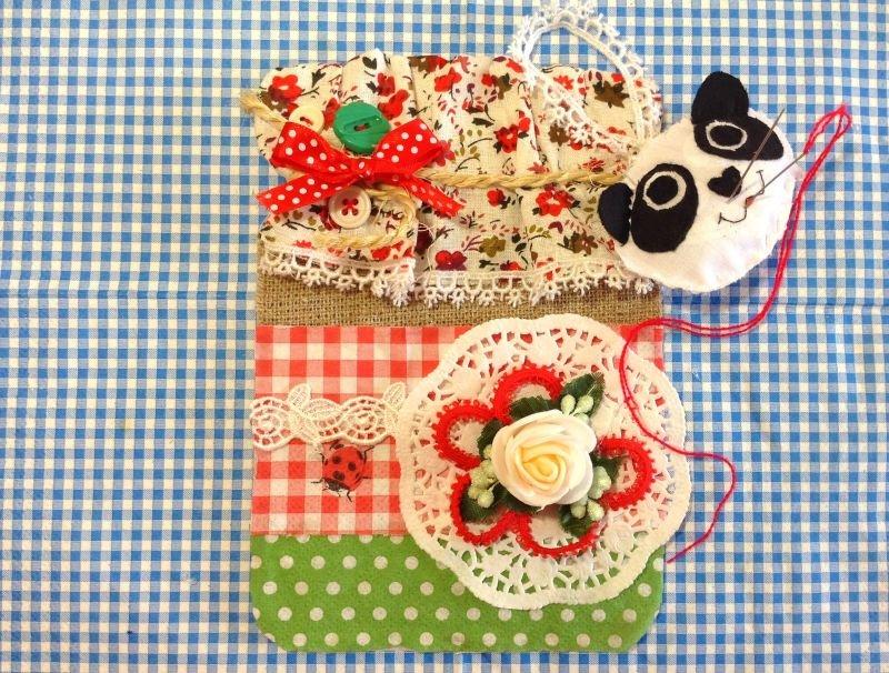 Открытки с тканями, днем рождения дочка