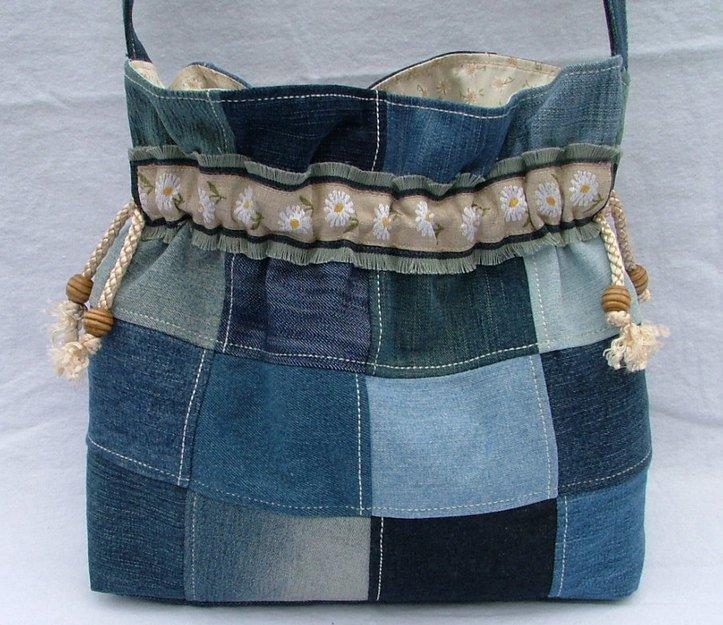73856e33bdef Лоскутное шитье из джинсы: сумка Лоскутное шитье из джинсы: сумка