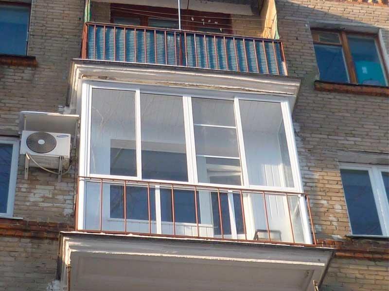 Нужно остекление балкона или лоджии? необходимо фасадное ост.