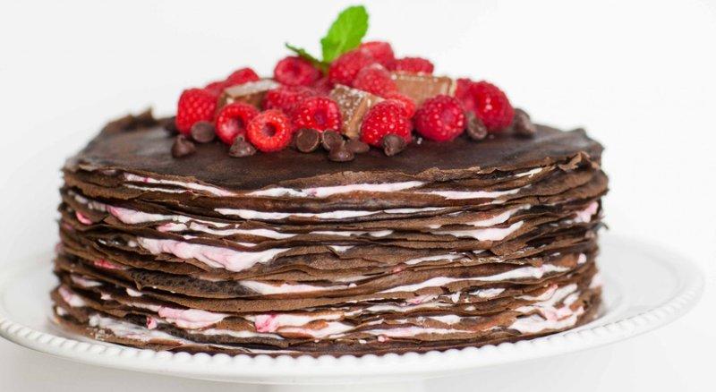 Блинный торт с фотографиями