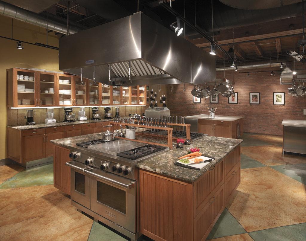 кухня профессионального типа