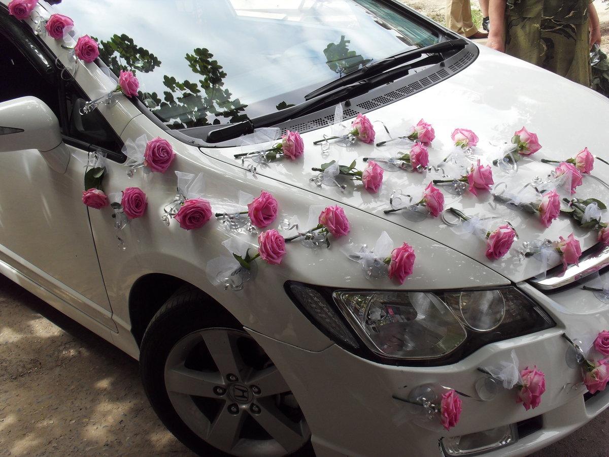 Как украсить авто на свадьбу своими руками фото 6