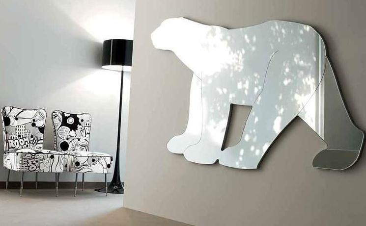 Дизайнерское зеркало для детской комнаты