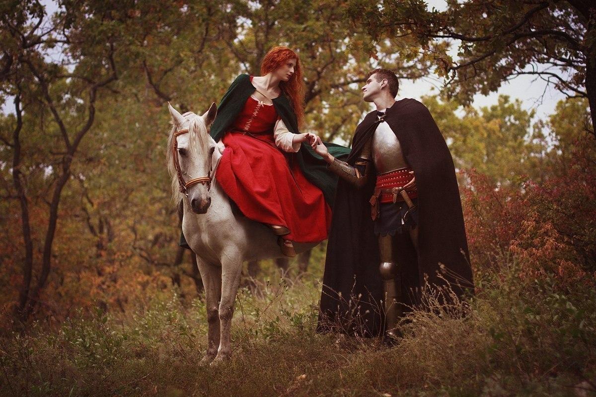 Фотосессия в средневековом стиле фото