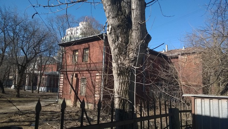 Больница святой Ольги в Орлово-Давыдовском переулке